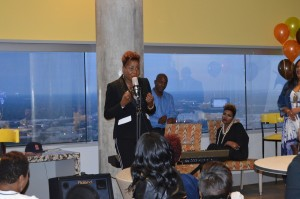 Cassandra Cleveland Roberston Media Listening Event
