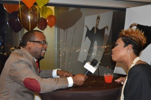 Bishop McGill (All Nations Radio) interviewing Cassandra